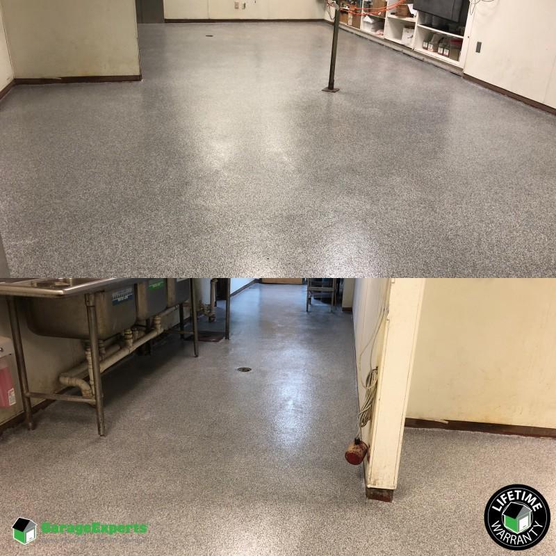 Commercial Kitchen Epoxy Flooring in Lexington, Ky | Garage ...