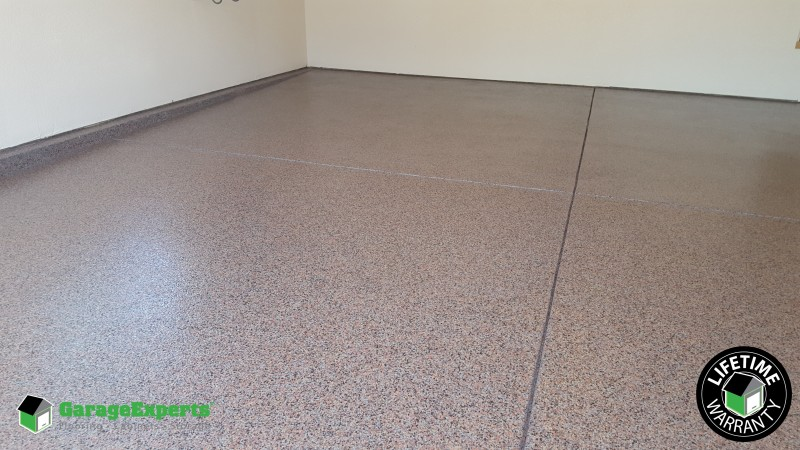 Loveland Garage In 1 4 Inch Terrazzo Garage Experts Of The