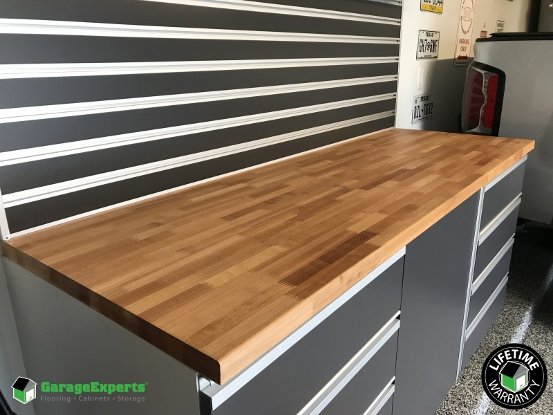 Custom Cabinets With A Garage Makeover In Spring Tx Garage Experts Of North Houston