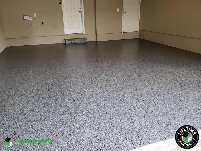 Garage FX Floor Coating Installed in Montgomery County