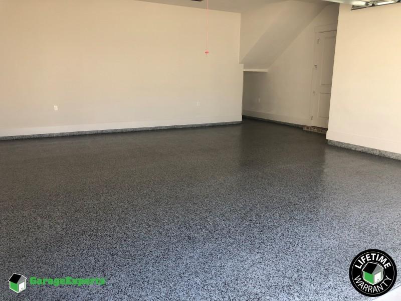 Garage floor coating - Mid City - Baton Rouge