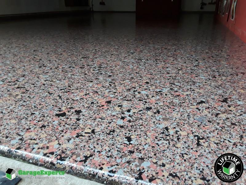 1 Terrazzo Flake Fx Floor In Oak Harbor Wa Garage Experts