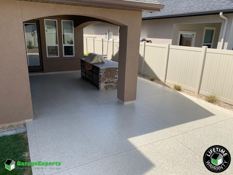 Patio Install in Meridian, ID