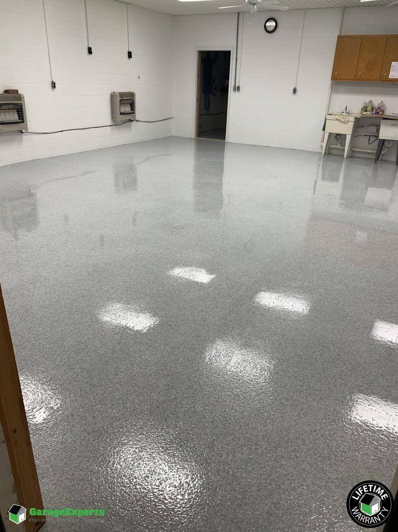 New Epoxy Floor ...