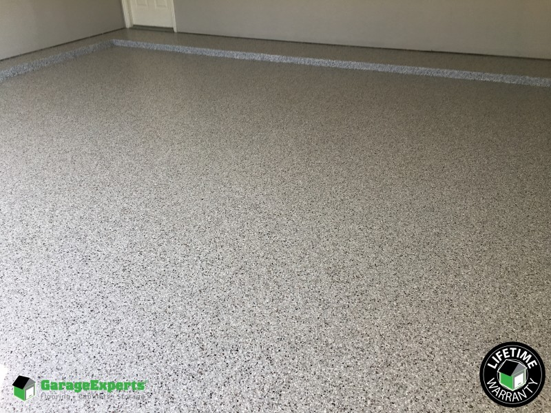 Epoxy flooring installed in Euless, TX