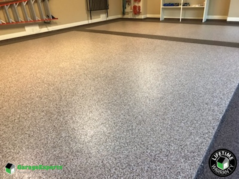 Two-Toned Floor ...