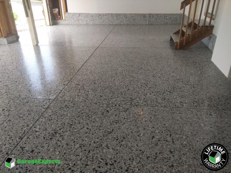 Epoxy floor in Thornton, Colorado with 1