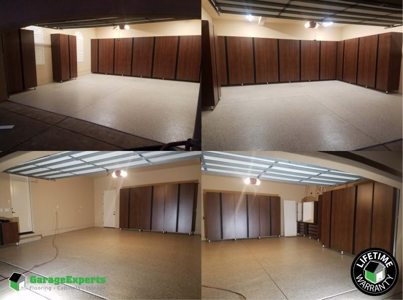 El Dorado Hills   Serano   New Garage Storage   New Garage Epoxy Floor