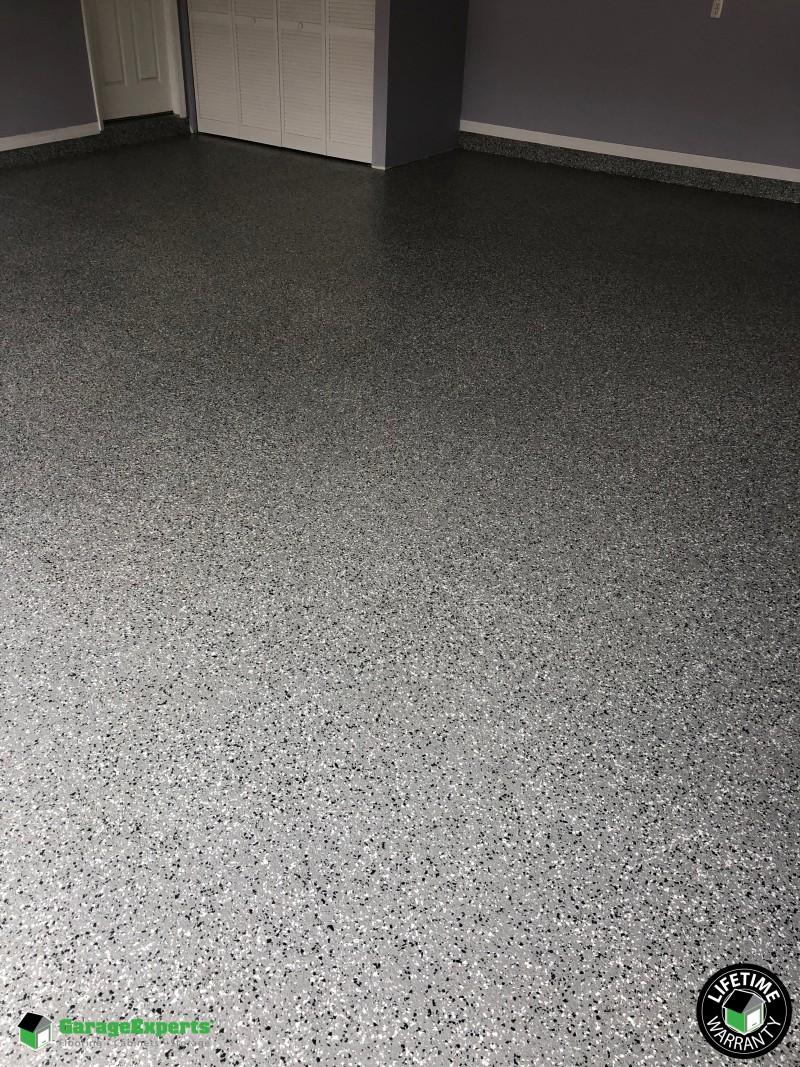 Epoxy Garage Flooring Installed in Orlando, FL