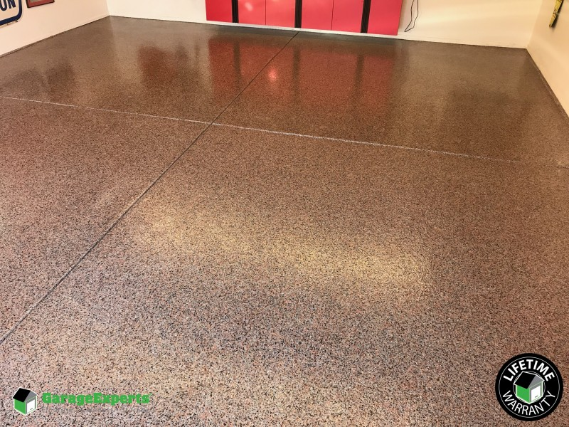 Terrazzo Garage Makeover Albuquerque New Mexico Garage