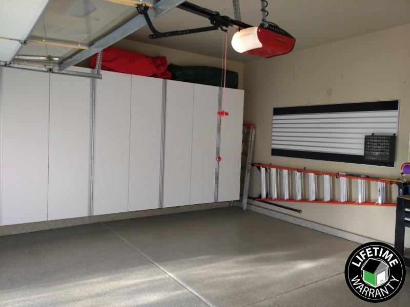 Garage cabinets installed in Erie, Colorado