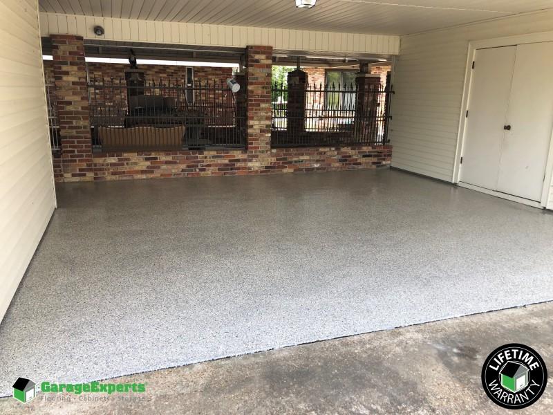 Garage floor coating - Livonia