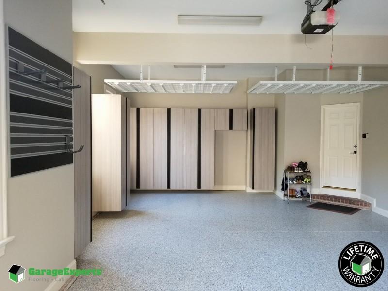 Perfectly Balanced Garage Storage Solution   Albuquerque, New Mexico