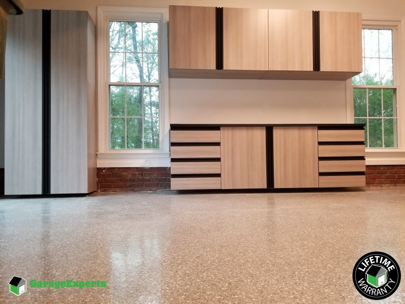 Elegant Cabinets Flooring and More in Fortson GA & Recent Work | GarageExperts of Chattahoochee Valley