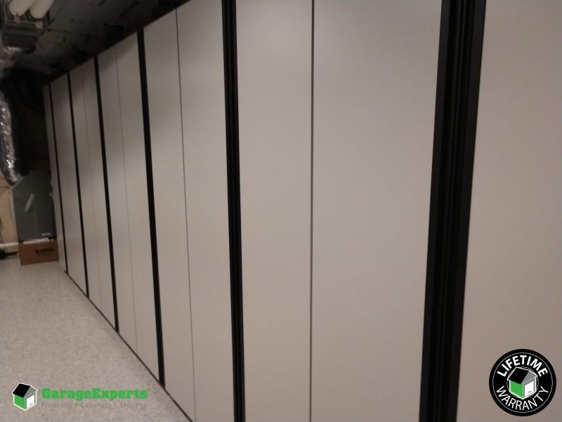 Cabinet storage ...