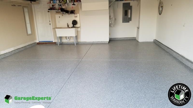 Residential Garage Epoxy Flooring In Panama City Fl Garage