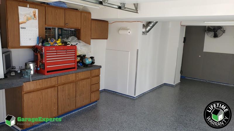 Epoxy Garage Floor installed in Kansas City, MO