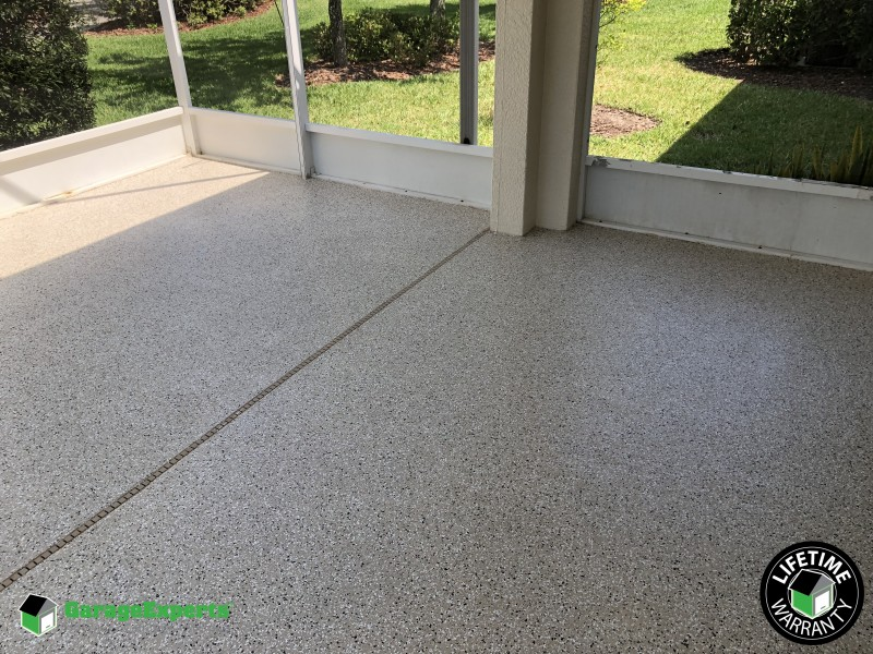 Epoxy Flooring Outdoor Patio 1 4 Maui Garage Experts Of Brevard