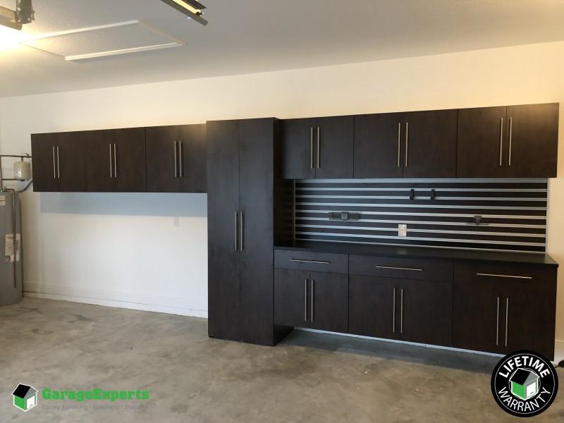 Residential Garage Cabinet Storage Solution In Port St Lucie Fl Experts Of Brevard