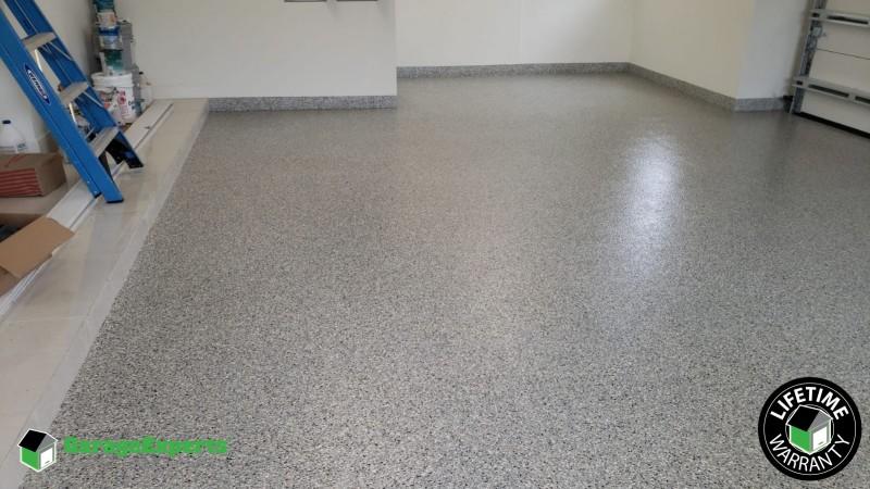 1/4 Granite Epoxy Floor done in Miami FL