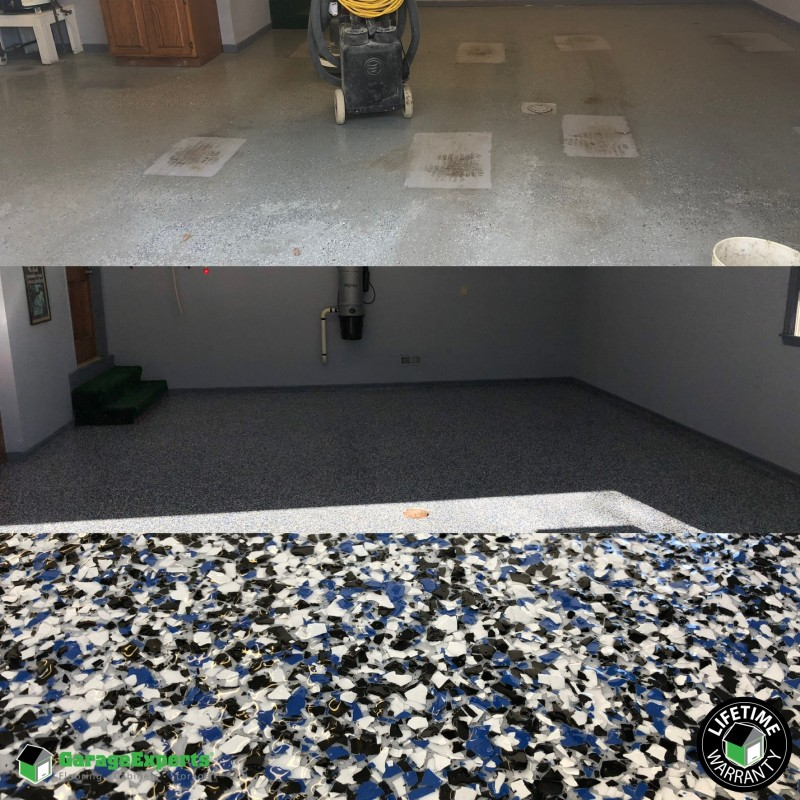 Garage Floor renovation in Lawrenceburg KY