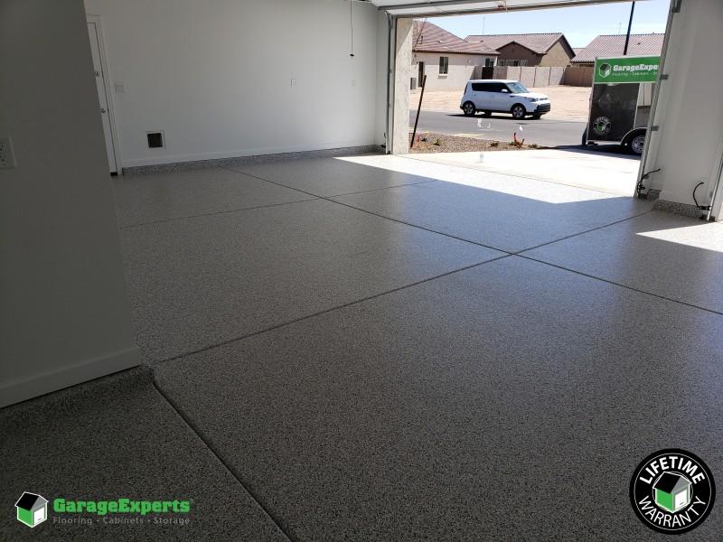 Epoxy Garage Flooring Installed in Cave Creek, AZ.