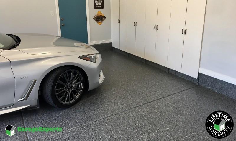 Garage Epoxy Flooring Installed in Fresno Ca