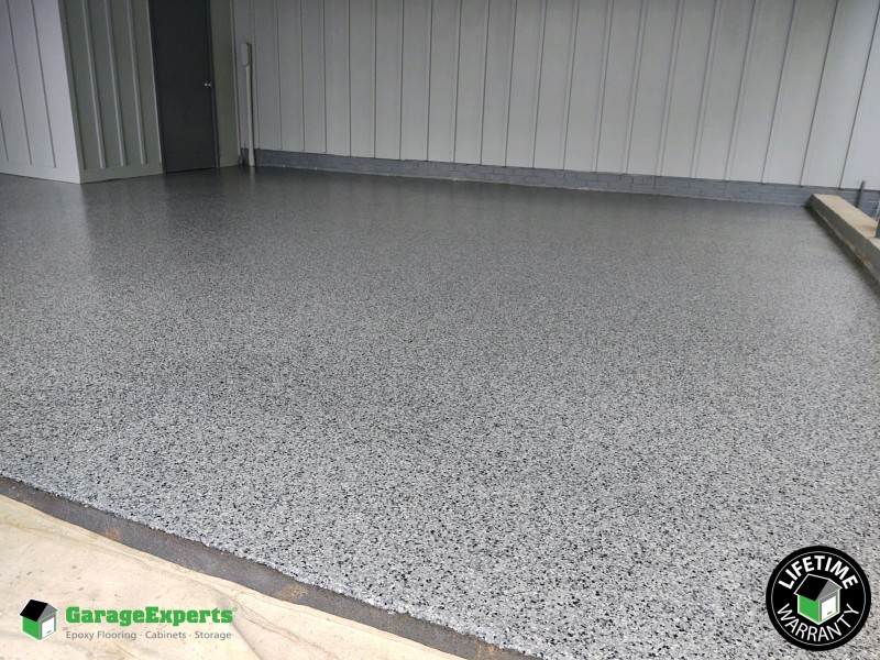 Residential Carport Epoxy Flooring In Raleigh Nc Garage Experts Of The Triangle