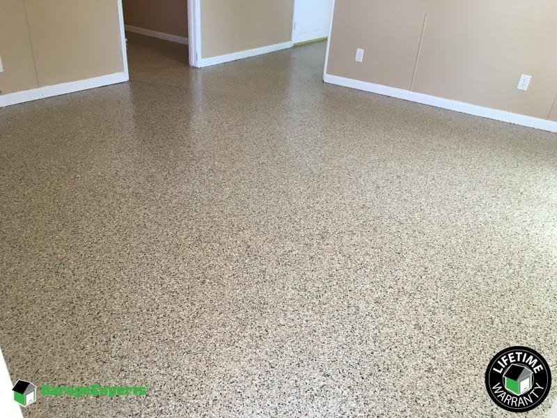 Basement Epoxy Flooring In Lexington KY