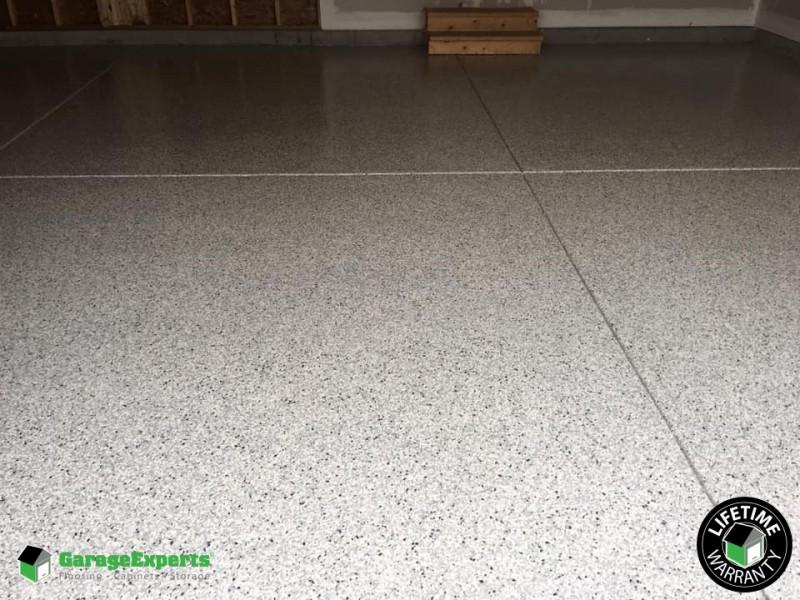 New Epoxy Garage Floor After Pictures