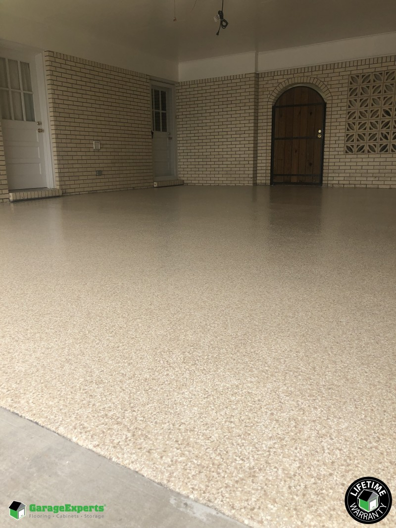 Front Porch And Garage Floor Coating Lafayette Garage Experts