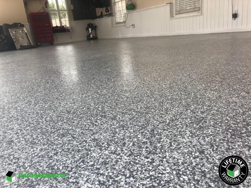 Epoxy floor installed in Duluth, GA